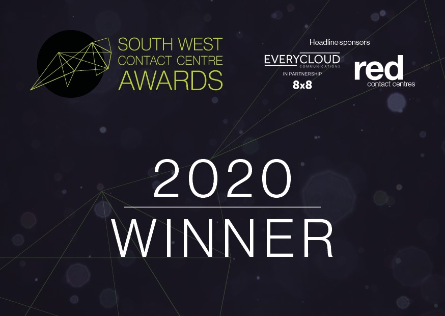 Sensée strikes gold at the 2020 South West Contact Centre Awards