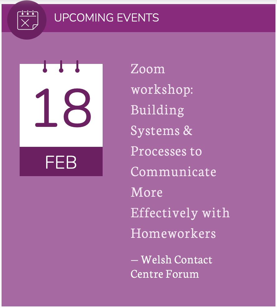 (Online workshop) Building Systems and Processes to Communicate More Effectively with Homeworkers