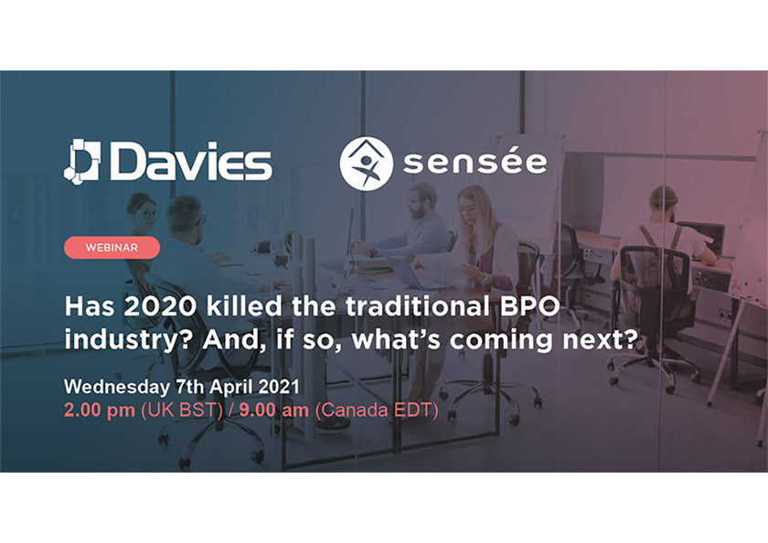 (Discussion invite) Has 2020 killed the traditional BPO industry? And, if so, what's coming next?