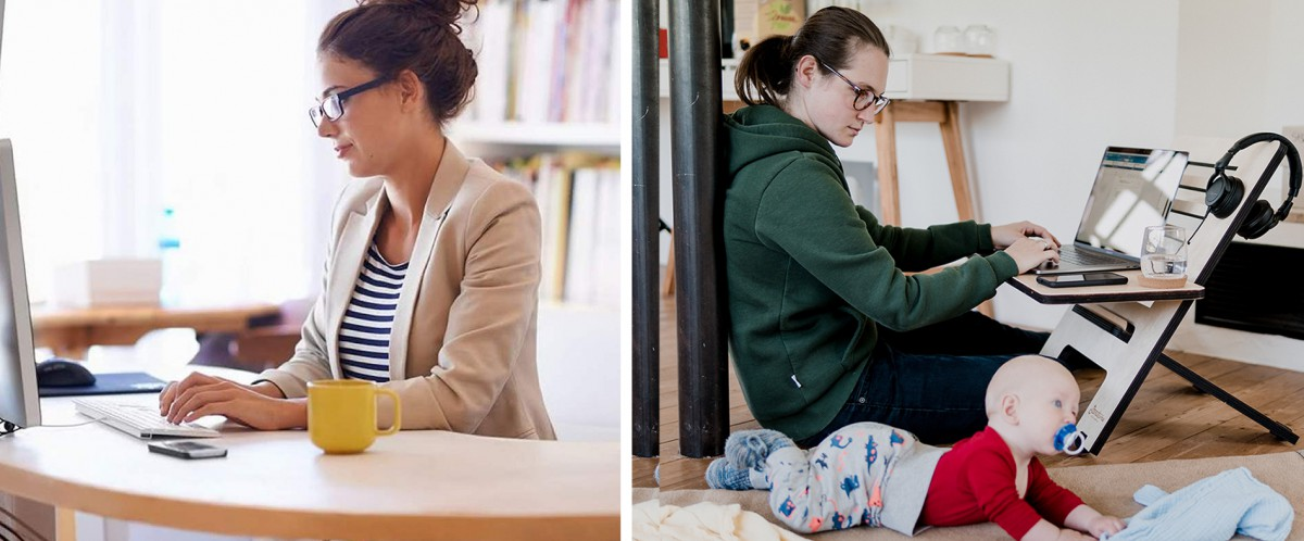What Will An 'Acceptable Professional' Eventually Look Like When Working-From-Home?