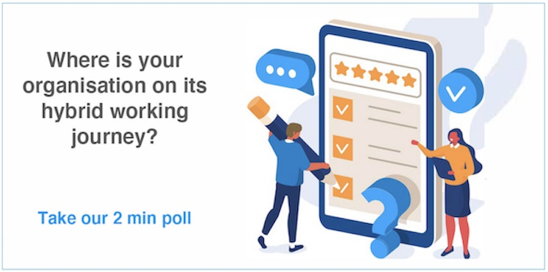 How is hybrid working for you?  Take our poll