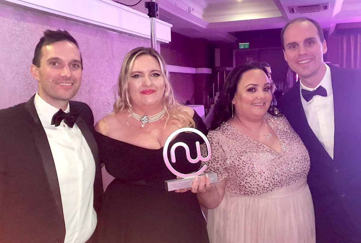 Ageas and Sensée named Outsourced Contact Centre of the Year at 2021 Northern Awards